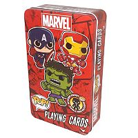 Marvel Funko POP! Playing Cards & Bobble-Head Figure Set by Cardinal
