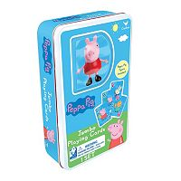Peppa Pig Jumbo Playing Cards & Figure Set by Cardinal