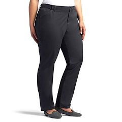Plus Size Lee Essential Straight-Leg Chino Pants