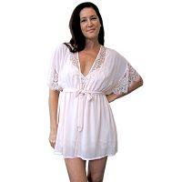 Women's Lunaire Eve Chiffon Wrap Robe