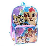 Disney's The Lion Guard Fuli & Kion Kids Backpack & Lunch Bag Set