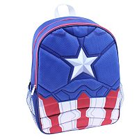 Kids Marvel Captain America Molded Shield Backpack