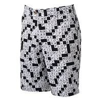 Men's Loudmouth Golfword Puzzle Golf Shorts