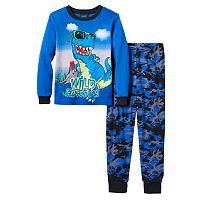 Boys Jelli Fish 2-Piece Print Pajama Set