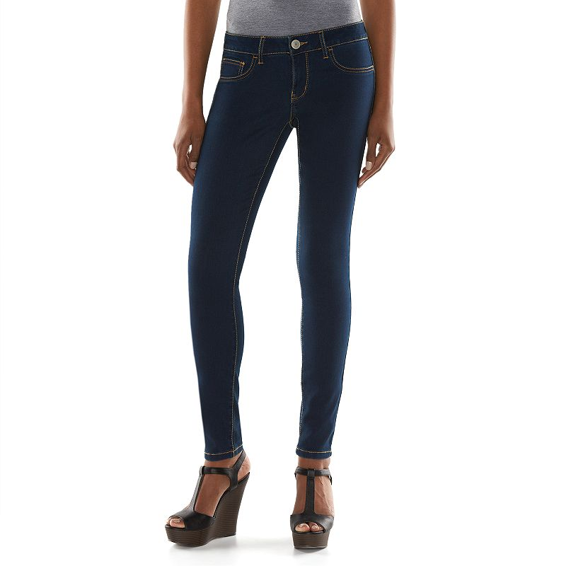 Juniors' SO® Denim Jeggings