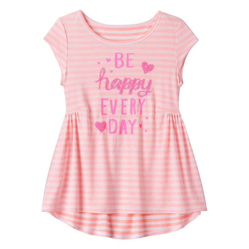 Girls 7-16 & Plus Size SO® Graphic Print Tunic