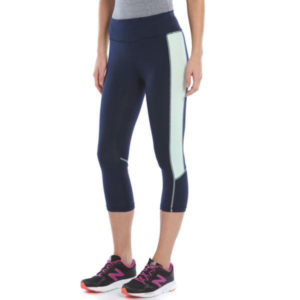 Women's Tek Gear® Shapewear Embossed Capri Workout Leggings