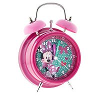 Disney's Minnie Mouse Polka-Dot Analog Alarm Clock