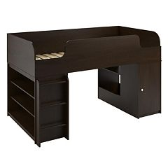 Cosco Elements Bookshelf & Toy Box Loft Bed by