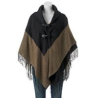 Apt. 9® Two-Tone Fringed Capelet