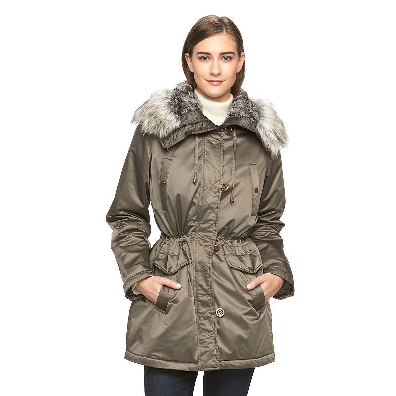 Women's Apt. 9® Anorak Hooded Coat