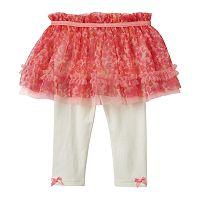 Baby Girl Baby Starters Floral Ruffle Tutu Leggings