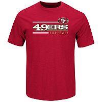 Men's Majestic San Francisco 49ers Line of Scrimmage Tee