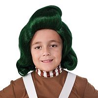 Kids Willy Wonka & the Chocolate Factory Oompa Loompa Costume Wig