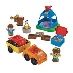 Fisher-Price Little People Going Camping Play Set