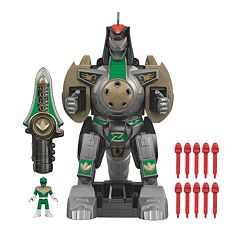 Fisher-Price Imaginext Power Rangers Green Ranger & Dragonzord Remote Control Play Set by