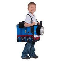 Kids Thomas the Tank Engine Ride in Train Costume