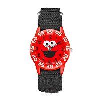 Sesame Street Kids' Elmo Time Teacher Watch