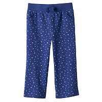 Baby Girl Jumping Beans® Print French Terry Pants