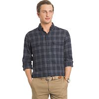 Men's Arrow Plaid Classic-Fit Button-Down Shirt