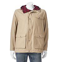 Men's Woolrich Flannel-Lined Hooded Jacket