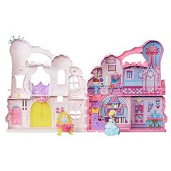 Disney Princess Little Kingdom Play 'n Carry Castle by Hasbro by