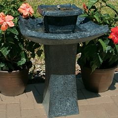 Smart Living Mahayana 2-Tier Solar Fountain by