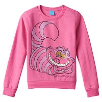 Disney's Alice in Wonderland Cheshire Cat Girls 7-16 Fleece-Lined Top