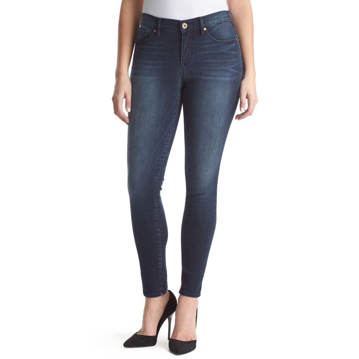 Womens Gloria Vanderbilt Movement Curvy Fit Skinny Jeans