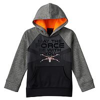 Boys 4-7x Star Wars a Collection for Kohl's X-Wing Fighter Fleece-Lined Hoodie