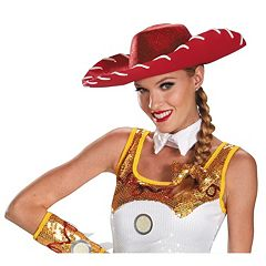 Disney / Pixar Toy Story Adult Jessie Glam Hat & Hair Bow Costume Set