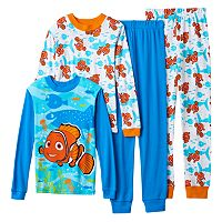 Boys Disney / Pixar Finding Nemo 4-Piece Pajama Set