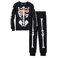 Boys Jelli Fish 2-Piece Skeleton Pajama Set