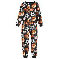 Boys 4-20 Jelli Fish Fleece Pajamas