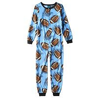 Boys 4-20 Jelli Fish Fleece Pajamas