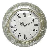 Fetco Home Decor Manoli Wall Clock