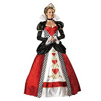 Adult Queen Of Hearts Elite Collection Costume