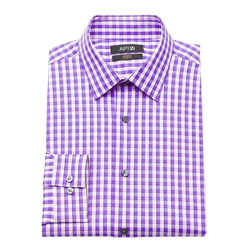 Men 39 S Apt 9 Slim Fit Stretch Dress Shirt Dealtrend
