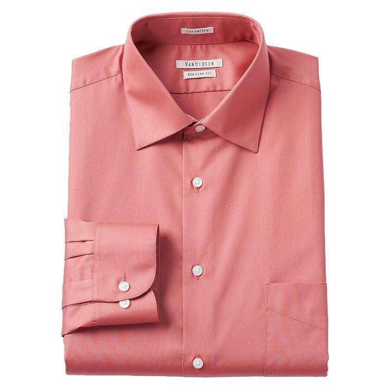 Men 39 S Van Heusen Regular Fit Lux Sateen Dress Shirt