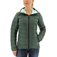 Women's Adidas Outdoor Light Down Hooded Jacket