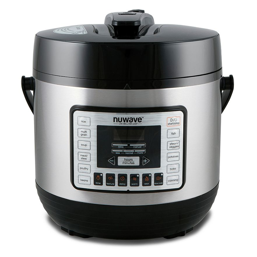 how to use nuwave electric pressure cooker