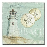 Trademark Fine Art Beach House I Canvas Wall Art
