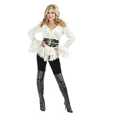 Adult South Sea's Pirate Blouse Costume by