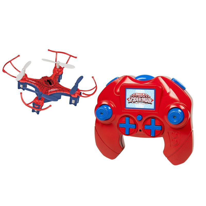 Marvel Avengers Spider Man 4.5CH 2.4GHz RC Quadcopter Micro Drone by World Tech Toys, Multicolor thumbnail