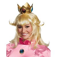 Adult Super Mario Brothers Princess Peach Costume Wig