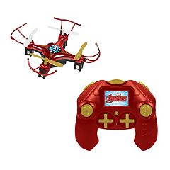 Marvel Avengers Iron Man 4.5CH 2.4GHz RC Quadcopter Micro Drone by World Tech Toys by