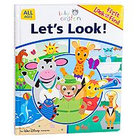 Baby Einstein Let's Look! Look and Find Book