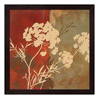Metaverse Art Among the Flowers I Framed Wall Art
