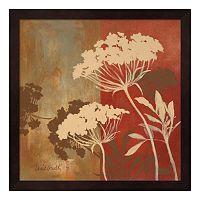 Metaverse Art Among the Flowers II Framed Wall Art