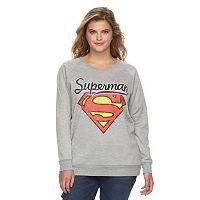 Juniors' Plus Size DC Comics Superman Graphic Sweatshirt
